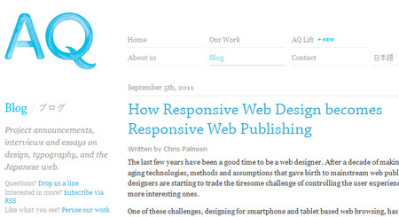 How Responsive Web Design becomes Responsive Web Publishing