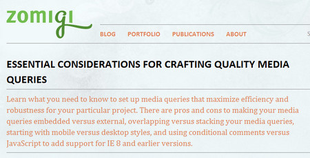 ESSENTIAL CONSIDERATIONS FOR CRAFTING QUALITY MEDIA QUERIES