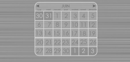 A very design calendar