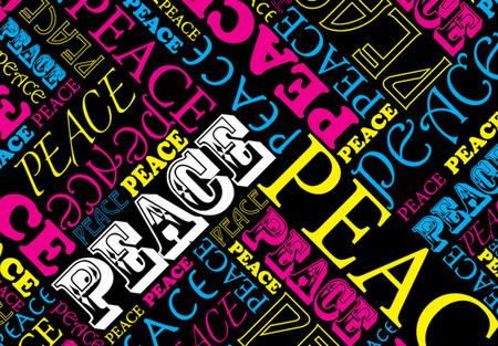 CMYK says PEACE!