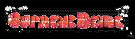 supremebeing font design