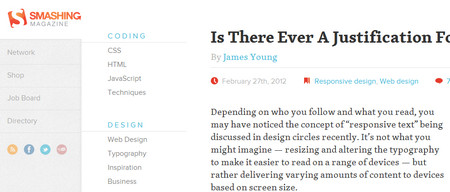 Is There Ever A Justification For Responsive Text?