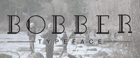Bobber Typeface