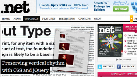 Preserving vertical rhythm with CSS and jQuery