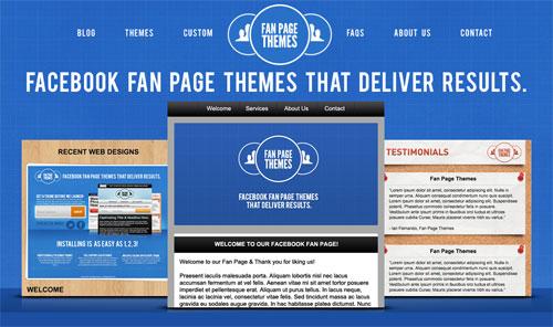 Fan Page Theme