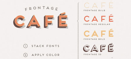 Frontage Typeface +freefont