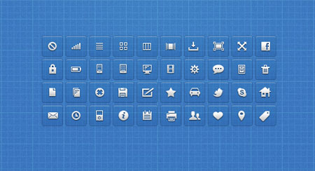 Icons by Luke Spoor