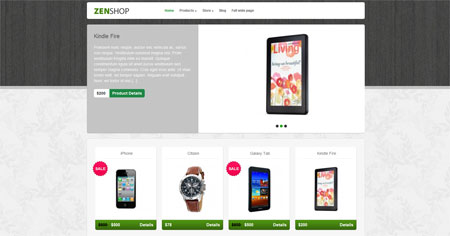 Zenshop - Ecommerce wordpress theme