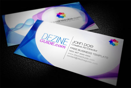 Modern Business Card – III