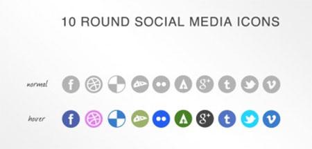 10 Social Media Icons