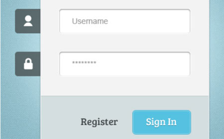 Login Form (Free Resource) - PSD, HTML, CSS3, jQuery