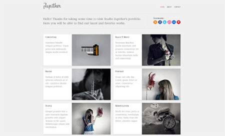 Jupither homepage