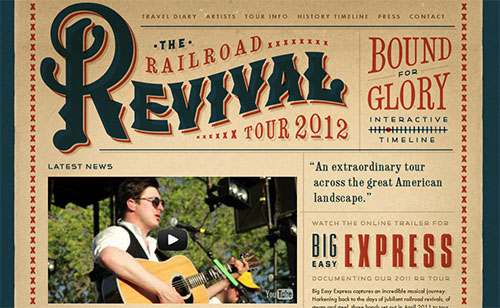The Railroad Revival Tour 2012