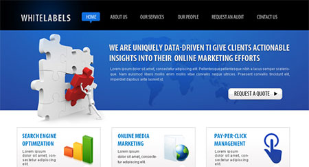 IT Company (Online Marketing) Web Template