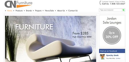 CN Furniture and Interior Web Template
