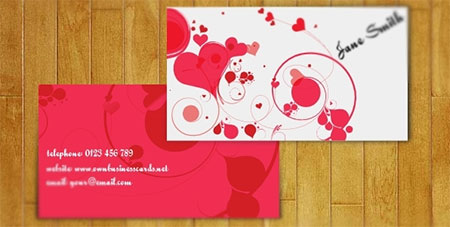 Lovely Business Card for Women