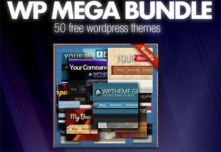 New Free bundle: 50 Free WordPress Themes and our new project