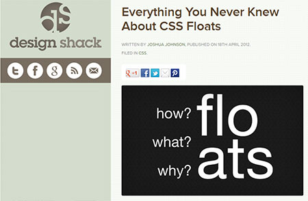 Everything You Never Knew About CSS Floats