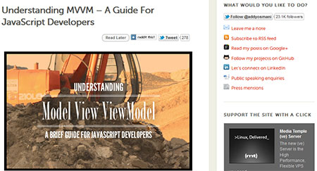 Understanding MVVM – A Guide For JavaScript Developers