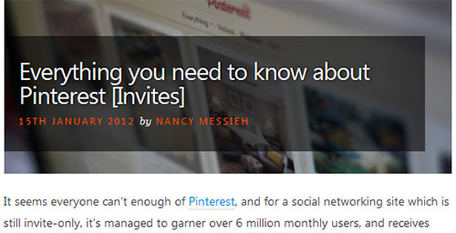 Everything you need to know about Pinterest [Invites]
