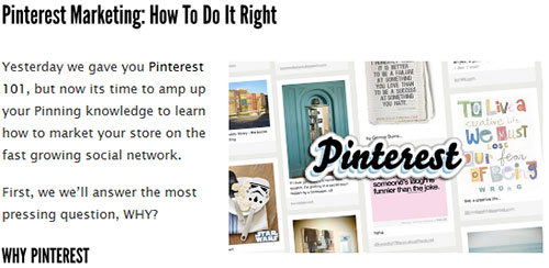 Pinterest Marketing: How to do it right