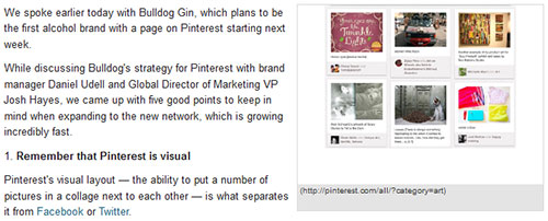 Here Are Five Things Brands Should Keep In Mind When Using Pinterest