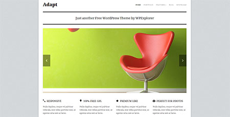Adapt  Responsive Business WordPress Theme