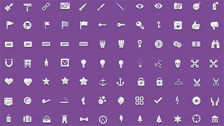 200 icons from Inventicons