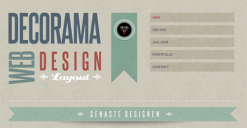 Decorama Web Design