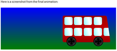 Creating First Animations With CSS3 Using Keyframes