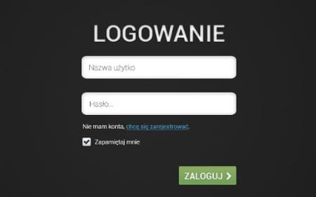 Logowanie PSD/Login Form