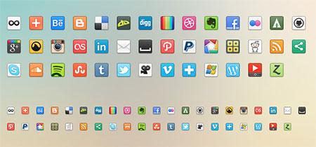 41 Social Media Icons