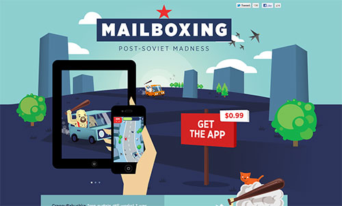 Mailboxing - iPhone and iPad Game