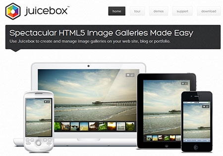 Spectacular HTML5 Image Galleries