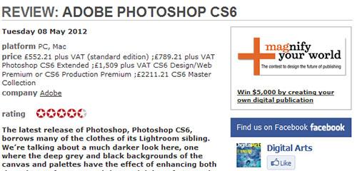 REVIEW: Adobe Photoshop CS6