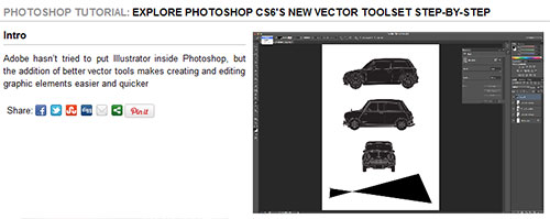 Explore Photoshop CS6's new vector toolset step-by-step