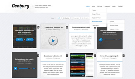 Century WordPress Theme