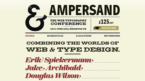 Ampersand Conf