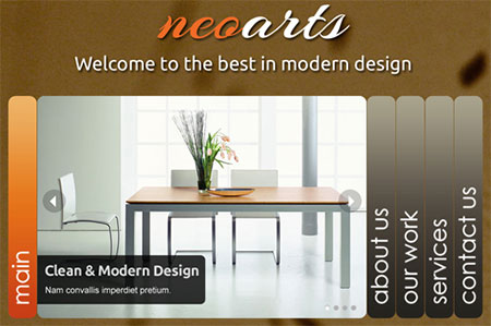 Neoarts - HTML5 Portfolio / Business Template