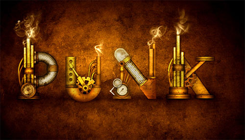 How to Create a Steampunk Type Treatment