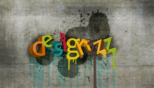 Creating a 3D Typography
