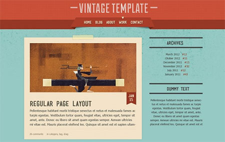 Vintage – All Layouts