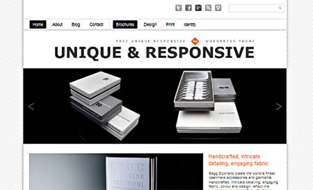 Unique Theme Responsive