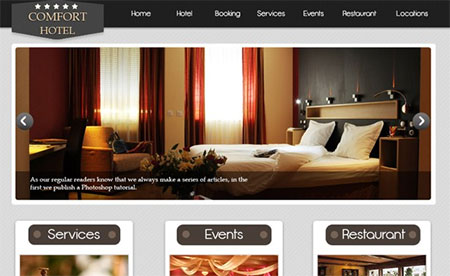 How to Create a Stylish Hotel Website – PSD to HTML