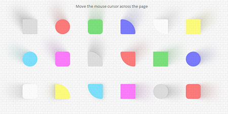 Mouse-Sensitive & Realistic Shadows With jQuery