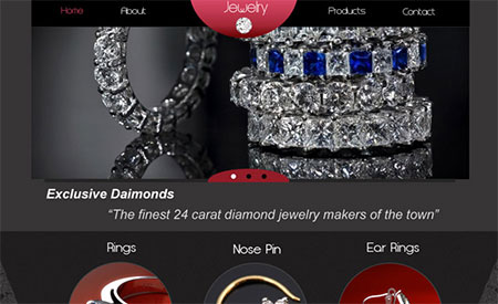 Designing a Jeweler's Website in Photoshop