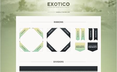Exotico UI Set