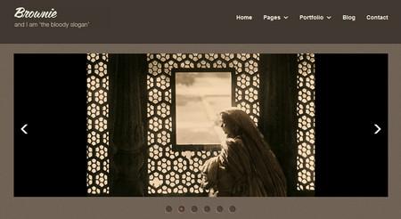 Brownie - Responsive HTML5 Portfolio