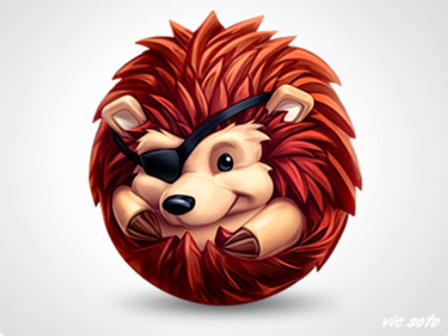 Hedgehog icon by Victor Soto