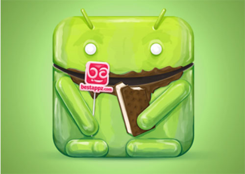 Best Android Appz icon by Nina Radenković